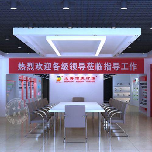 上海佰庆展厅效果图